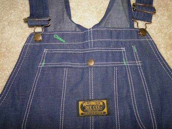 36x30 Vintage DEE CEE Dead Stock denim Sanforized Overalls size