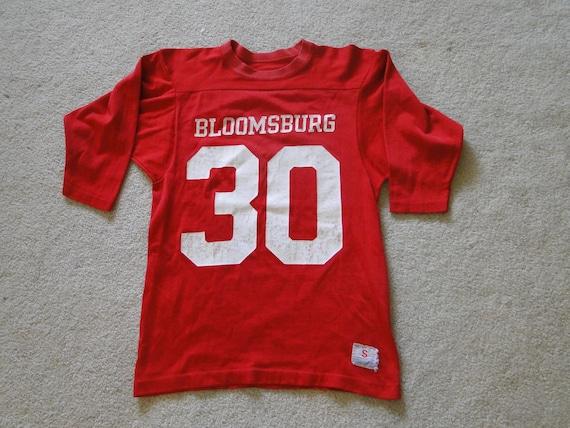 VINTAGE T shirt champion JERSEY bloomsburg 70s Sz.