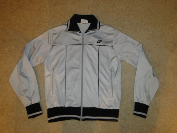 Vintage NIKE 1970's Track Jacket Made in KOREA Sz