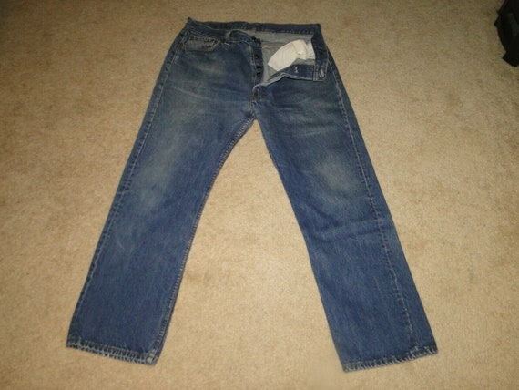 Vintage LEVI'S 501 Denim Jeans. No BIG E No Redlin