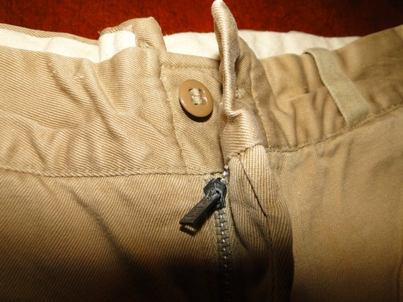 Vintage US ARMY Military Uniform Trousers Chino pa