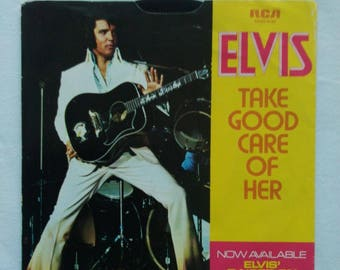 Original  USA 45 'Take Good Care of Her'   Picture Sleeve