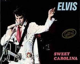 MP4  REMASTERED INSTANT DOWNLOAD---Elvis Cd 'Sweet Carolina' Greensboro, April 14th 1972