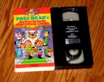 Yogi Bear's All Star Comedy CHRISTMAS CAPER VHS Animated Film Hanna Barbera Video