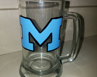 Mahwah Beer Mug hand painted by LifeofReillyDesigns