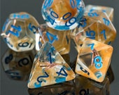 Sharp Shooter Ranger Class Polyhedral Dice for RPG Games like Dungeons and Dragons and Pathfinder. DnD Gifts RPG Gift