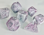 Storm Cloud Polyhedral Dice for RPG Games like Dungeons and Dragons and Pathfinder. DnD Gifts RPG Gift