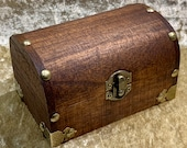 Trinket Chest and DnD Dice Box for Dungeons and Dragons
