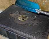 A5 Celtic Tome Book of Shadows Notebook Journal with deckled parchment Dungeons and Dragons