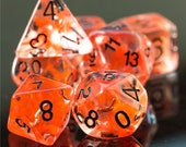 Sneak attack Rogue Class Polyhedral Dice for RPG Games like Dungeons and Dragons and Pathfinder. DnD Gifts RPG Gift