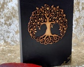 Tree of life Wood Dice Box. Dice Tray and Holder for Dungeons and Dragons. Gift for DnD and Pathfinder.
