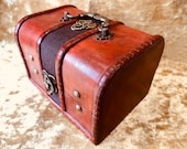 Trinket Chest box and DnD Dice Box for Dungeons and Dragons