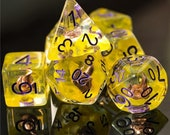 Empowered Sorcerer Class Polyhedral Dice for RPG Games like Dungeons and Dragons and Pathfinder. DnD Gifts RPG Gift