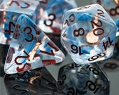 Bardic Inspiration Bard Class Polyhedral Dice for RPG Games like Dungeons and Dragons and Pathfinder. DnD Gifts RPG Gift