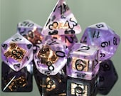 Pact of the Tome Warlock Class Polyhedral Dice for RPG Games like Dungeons and Dragons and Pathfinder. DnD Gifts RPG Gift