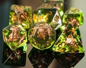Wild Shape Druid Class Polyhedral Dice for RPG Games like Dungeons and Dragons and Pathfinder. DnD Gifts RPG Gift