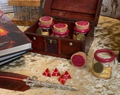 Healing Potion Gift Box Set - Dungeons and Dragons - 5e 4 set Healing Potions for RPG Props games magic gifts potion bottles