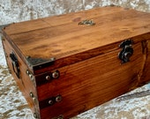 XXL Chest Dungeons and Dragons Chest with metal Dragon DnD Dice Box