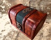 Trinket Chest box and DnD Dice Box for Dungeons and Dragons - Small