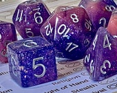 Unicorn Sprinkle Polyhedral Dice for RPG Games like Dungeons and Dragons and Pathfinder. DnD Gifts RPG Gift