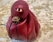 Dungeons and Dragons Leather Regular Dice Bag DnD Dicebag Coin Pouch LARP Bag for DnD Gifts RPG Gift Props larping