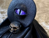 Dice Bag Dungeons and Dragons Leather Regular - DnD Dicebag Coin Pouch LARP Bag Dungeon Gifts RPG Gift Props