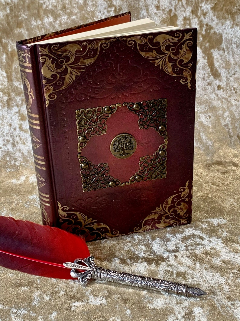 Leather A5 Notebook Journal with Corner Protectors for image 0