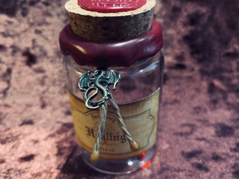 Dungeons and Dragons Potion of Healing for DnD Dungeons and image 0