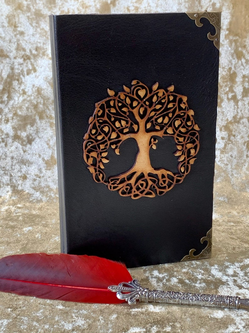 Tree of life Wood Dice Box. Dice Tray and Holder for Dungeons image 0