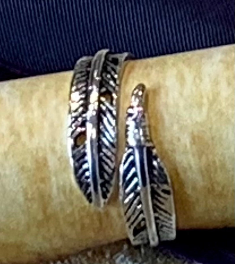 Ring of Feather Falling unisex adjustable fits all sizes for image 0