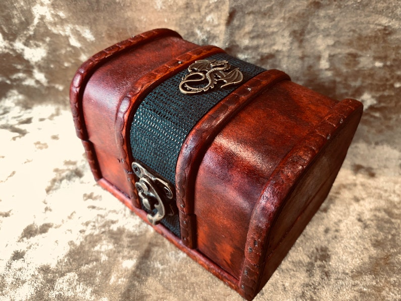 Trinket Chest box and DnD Dice Box for Dungeons and Dragons  image 0