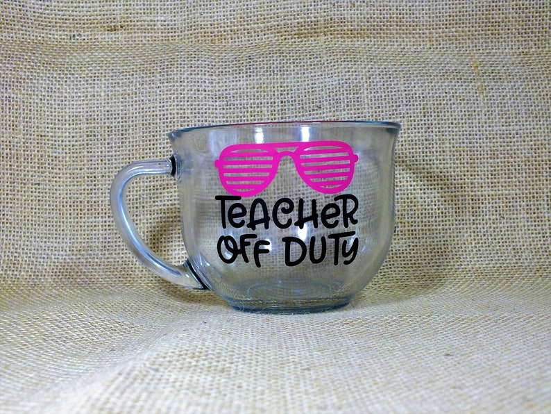 a171dda01de Teacher Off Duty - Coffee Mug Coffee Gift Coffee Gift Basket Mugs Cups  Personalized Coffee Mug Personalized Mug Personalized Cups