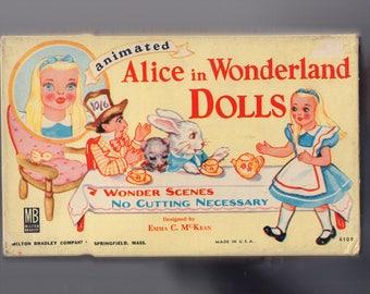 Animated Alice in Wonderland Paper Dolls