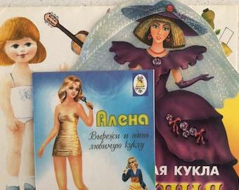 Russian Paper Doll Books