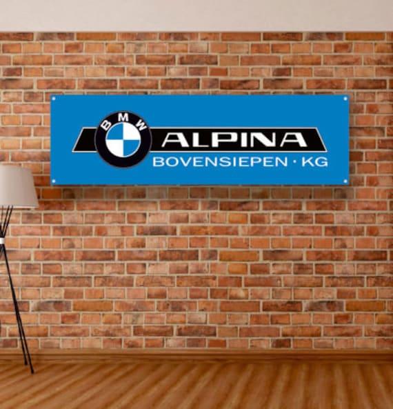 BMW Vinyl Sign Banner Flag Workshop Adversting  Wall Garage showroom Gift Décor