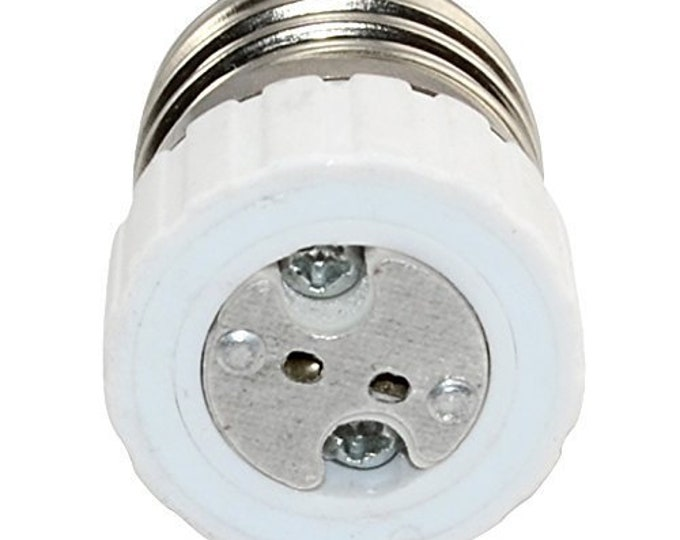 E26/E27 to MR16 - Standard E26/E27 Edison Screw Base to MR16 Gu5.3 Base Adapter Holder Converter