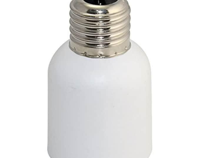 E26/E27 Medium Edison Screw to E39/E40 Mogul Base Lamp Light Socket Enlarger Converter Adapter Converter (E26/E27 to E39/E40)