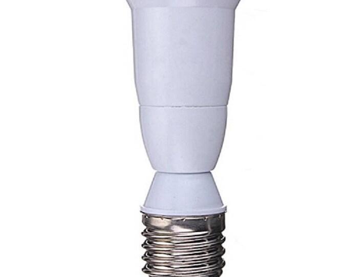 E26/E27 to E26/E27 extender - 95.5mm Length Edison Screw Extension Adapter For LED CFL Light Bulb Only (NOT For Incandescent Light Bulb)