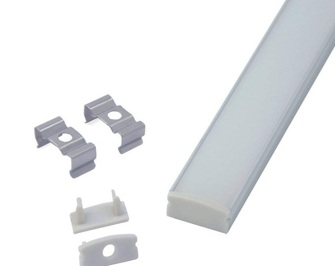 3.3ft/1Meter U Shape Aluminum Channel Profile for ALL LED Strip Light Installation