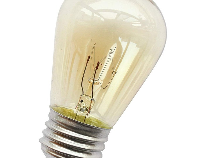 11W S14 Incandescent Light Bulb with E26 Edison Screw for Outdoor String Lights Replacement Bulbs