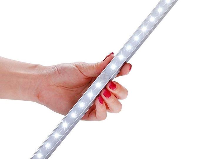 LED Closet Light, 20-LED Wireless Motion Sensor Night Light Under Cabinet Lighting (Battery Operated)