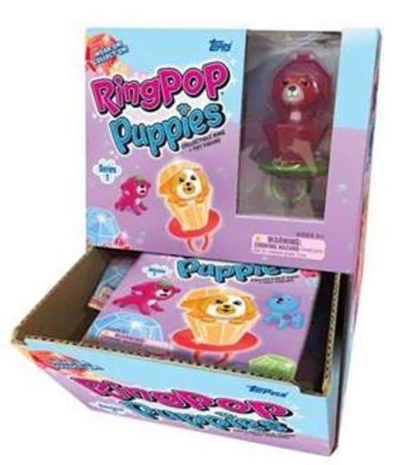 Anello Pop CUCCIOLI SERIE 2 Box Completo di 24 pacchetti