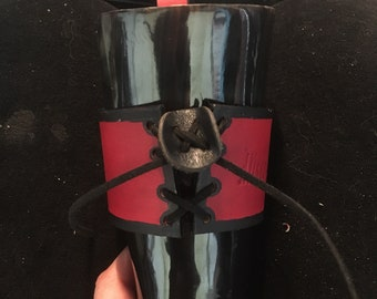 Leather Horn holder