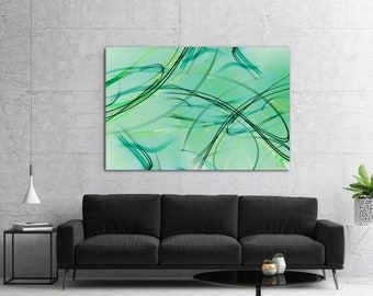 Large Original Abstract Painting, Contemporary Modern Wall Art