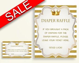 gold diaper raffle etsy
