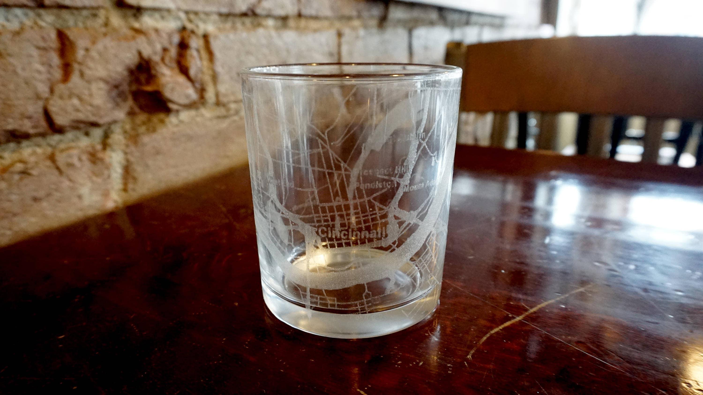 Palm Beach Garden Florida City Map Whiskey Glass Gift