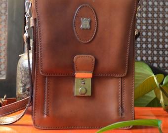 Man Bag, Casual Vintage, Leather Bag