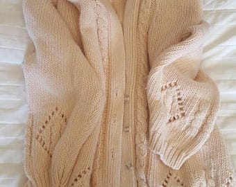 Vintage ladies cardigan sweater