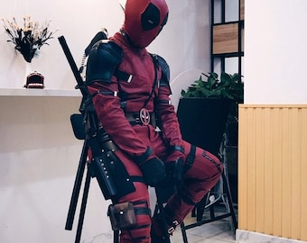 Deadpool cosplay costume 48fa905762df