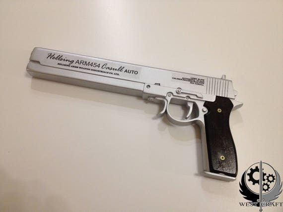 Hellsing Ultimate Alucard gun Casull Jackal realsize cosplay replika props